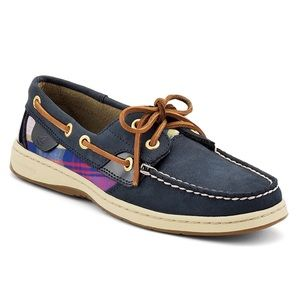 Sperry Top-Sider Bluefish Plaid Two Eye Boat Shoe